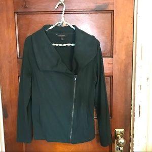 Hunter Green A-Symmetrical Sweatshirt